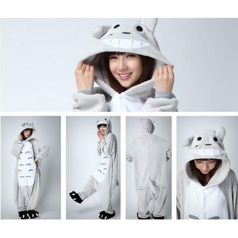 Totoro Unisex Winter Cosplay Costume Onesies