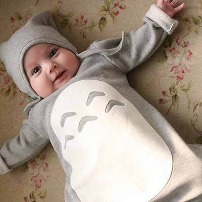 2016 Totoro Toddlers Cotton Baby Rompers