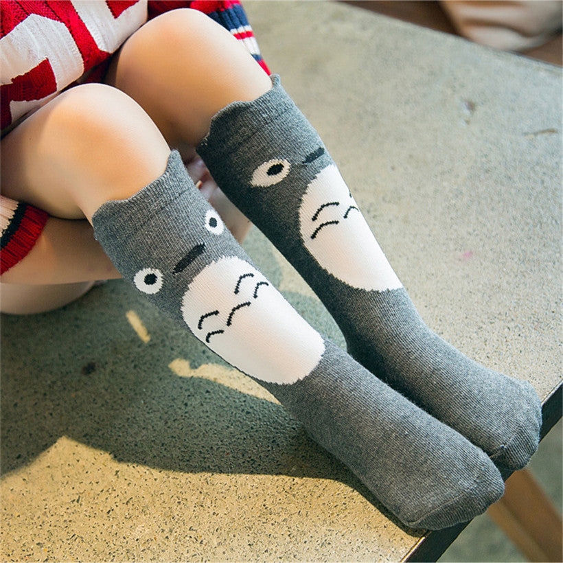 e3cd68b62df Totoro design knee high baby socks – Totoro Store
