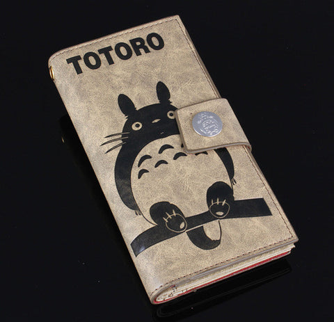 Vintage Zipper My Neighbor Totoro Wallet