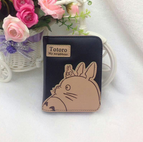 Totoro Leather Wallet/Coin Purse for Women