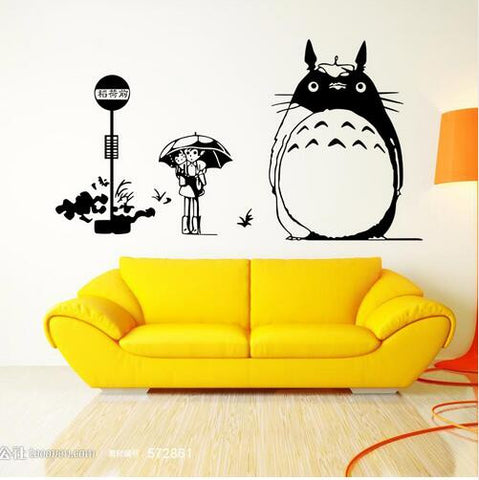 Totoro Vinyl Wall Decal/Sticker