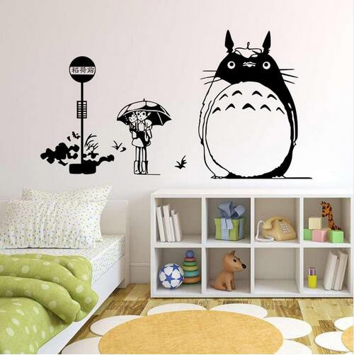 Great Totoro Vinyl Wall Decal/Sticker