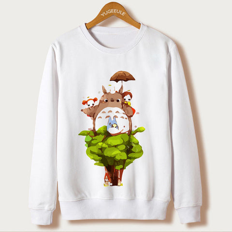 My Neighbor Totoro 3D Print Pullover Hoodies