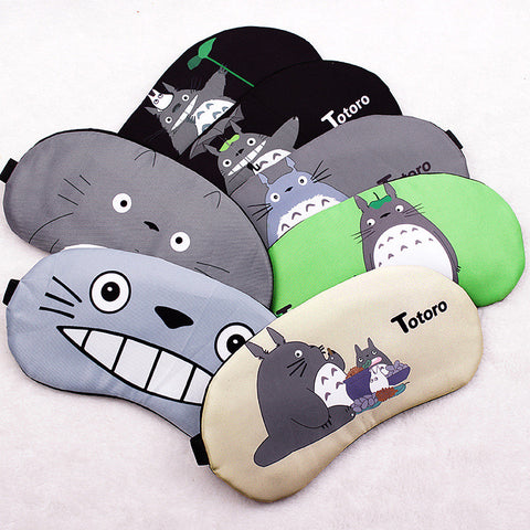 Totoro Sleeping Eye Mask with Cold Pack
