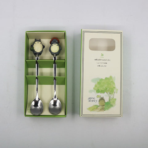 My Neighbor Totoro Dessert Spoon Pair
