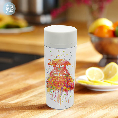 Modern BPA Free Water Bottle with Special Print Totoro 300ml
