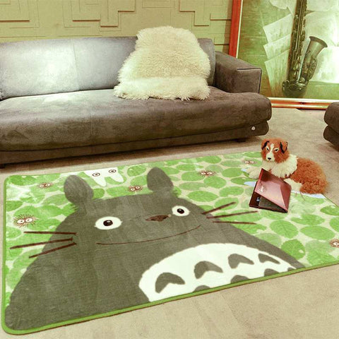 Totoro Childrens Room Carpet Mat