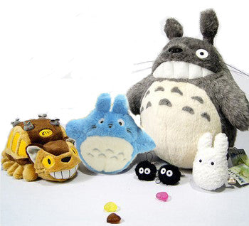 6pcs/set Totoro and Friends Plush Toys