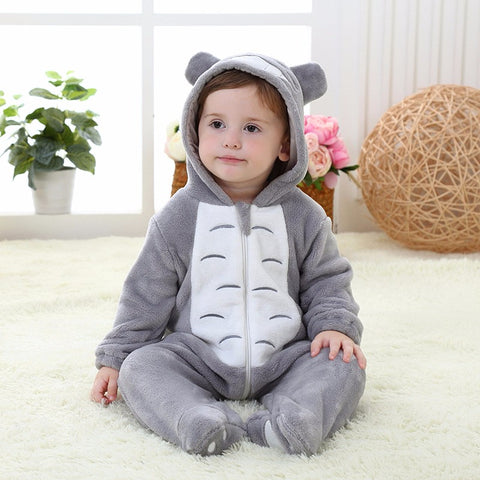 Infant and Toddler Totoro Onesie Jumper