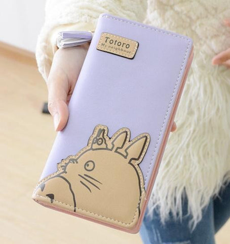 2016 New Design My Neighbor Totoro Wallet for Women