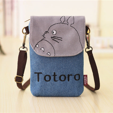 Totoro Wallet And Purse Mini Bag