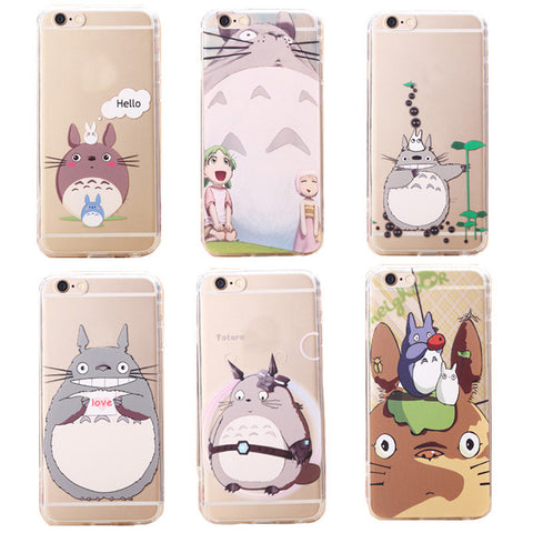 Cute Totoro Art Phone Case for iPhone 5/5s