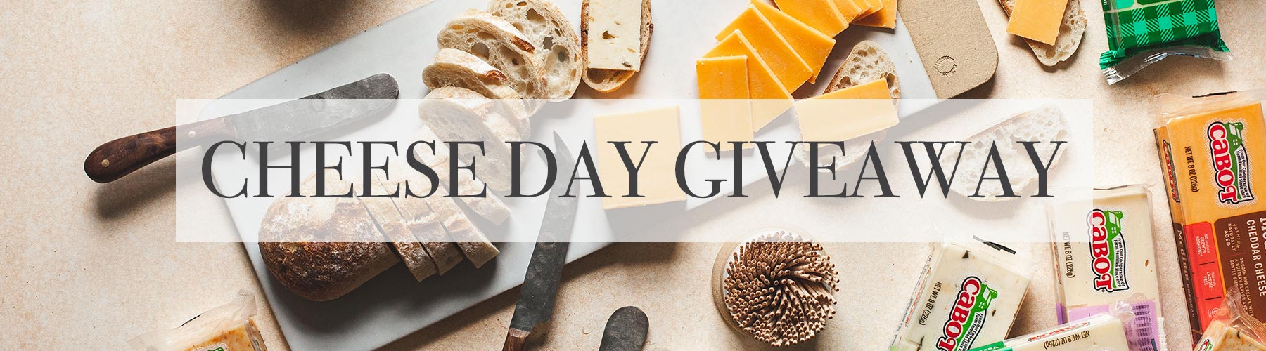 Cheese Day Giveaway