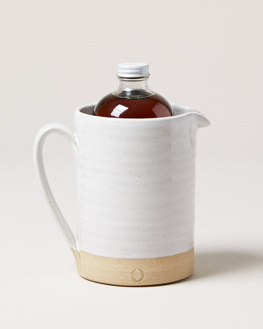 Medium Silo Pitcher & 16 oz. Syrup