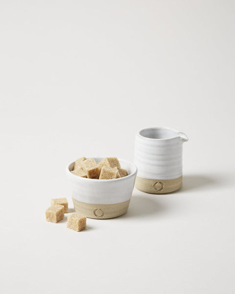 Petite Silo Sugar and Creamer Set