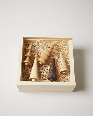 Crafted Woodland Ornament Gift Set