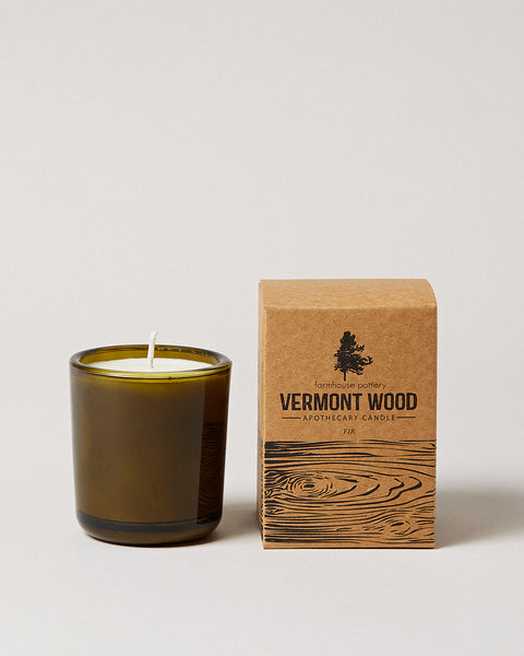 Vermont Wood Fir Candle
