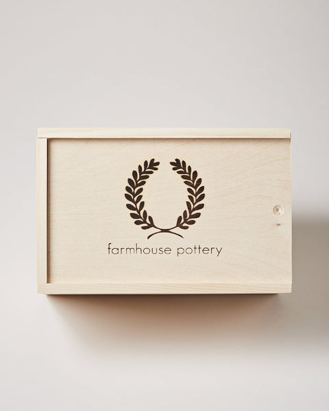 Farmhouse Pottery Gift Box