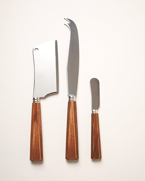 Timber Cheesemonger's Knives