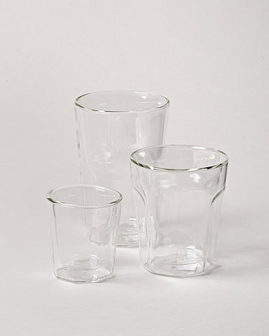 Double Wall Cafe Glasses - Set of 4
