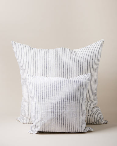 Washed Linen Pillow - Stripe