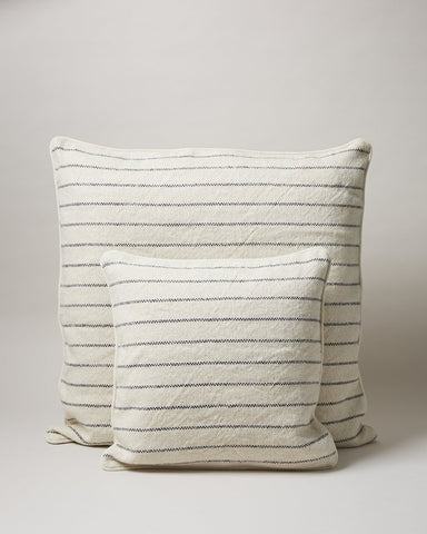 Maine Weave Pillow - Navy