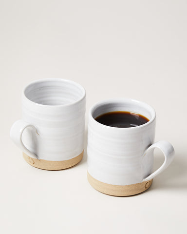 Silo Mug pair with coffee