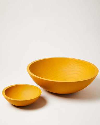 Farmers Painted Bowls - Ochre