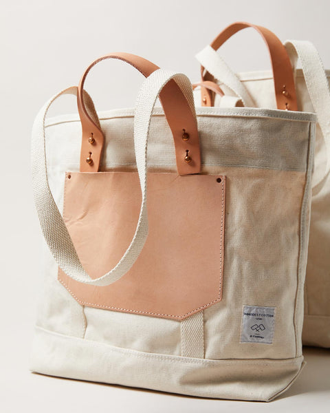 Canvas and Leather Bag