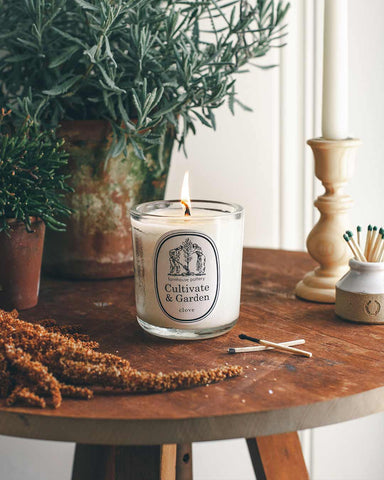 Cultivate & Garden Clove Candle