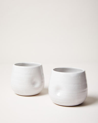 pair of Cotton Mugs