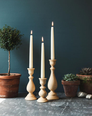 Essex Candlestick - Natural