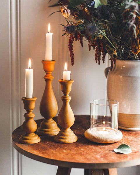 Essex Candlesticks Ochre