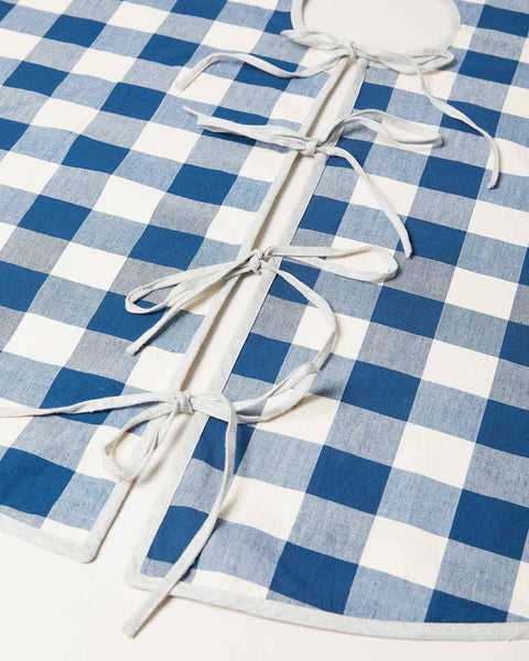 Farmer's Gingham Tree Skirts