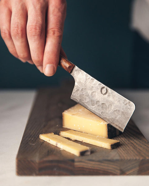 Forged Artisan Cheese Knife Cleaver