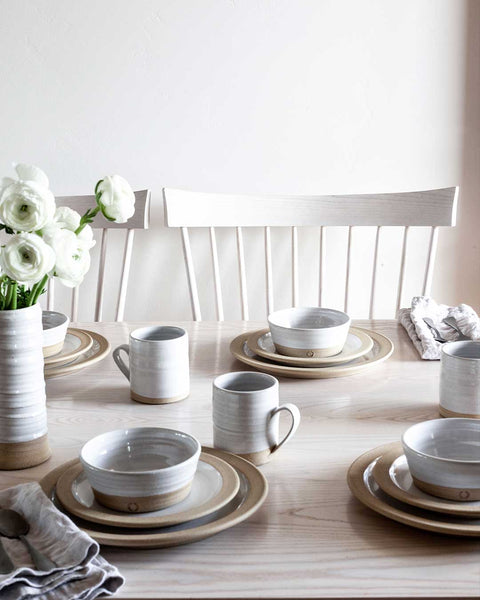Silo Dinnerware table set with Silo Dinnerware