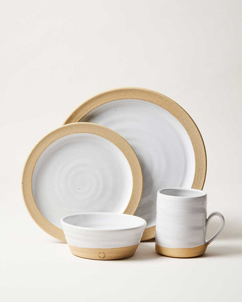 Silo Dinnerware 4 piece setting
