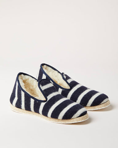 Breton Striped Slippers