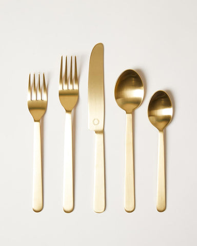 Stowe Flatware in gold