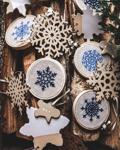 Vermont Flurry Ornaments