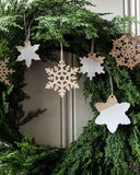Nordic Snowflake Ornament - Set of 4