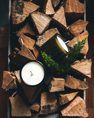 Vermont Wood Birch Candle