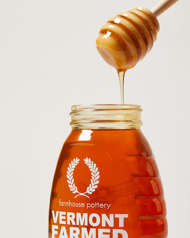 Vermont farmed liquid honey