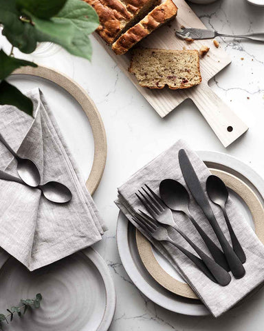 Washed Linen Napkins - Stone