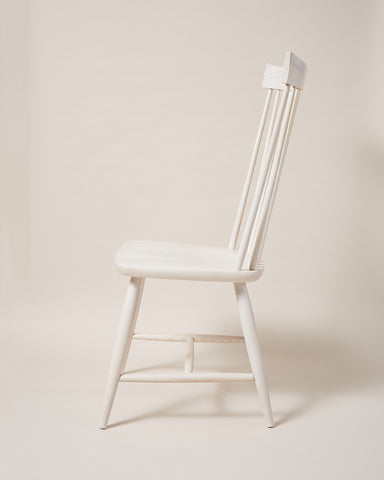 Farmhouse Windsor Chair   White Farmhouse Windsor Chair   White