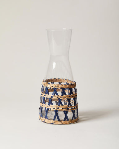 Wrapped Carafe in navy