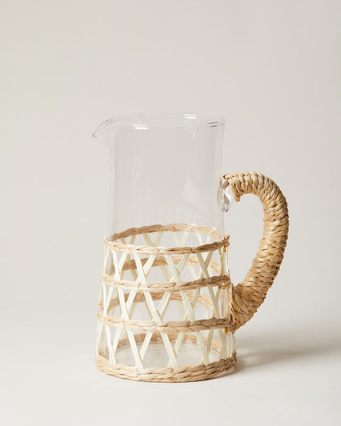 wrapped pitcher in white
