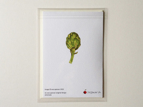 Artichoke - Greetings Card