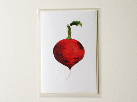 Beet - Greetings Card